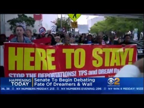Senate To Begin Debating Fate Of Dreamers & Wall