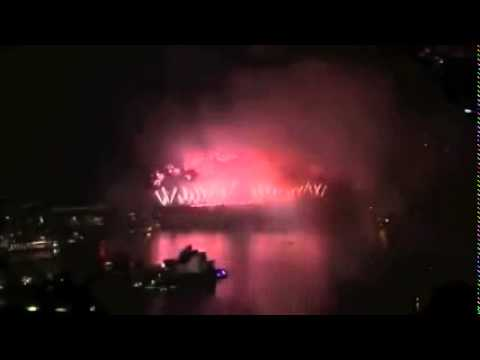 Sydney Midnight Fireworks New Years Eve Fireworks 2015 Full Show   Khan's Club