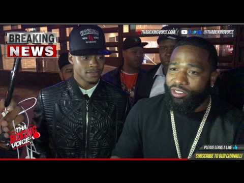 """Adrien Broner vs Terence Crawford PPV? He's From Nebraska We Get All Our """"Bud"""" From Arizona"""