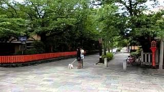 京都 祇園 巽橋 辰巳大明神 サスペンドラマ撮影のメッカ.