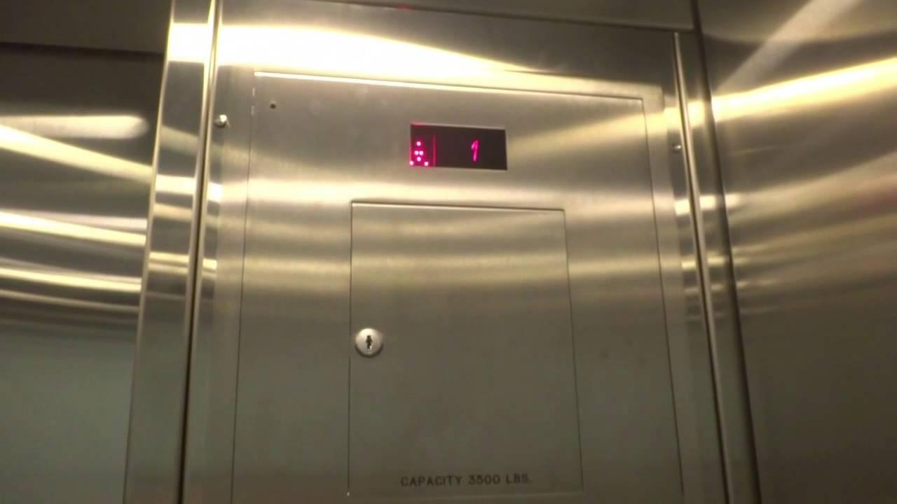 Schindler 400A Traction Elevators @ Raleigh/Durham (RDU) Airport ...