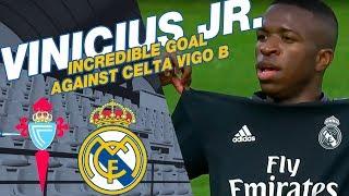 Vinicius Jr.'s GOLAZO against Celta Vigo B!