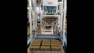 Paver Block Making Machines | KMA 72 - 6 Cavity Pavers Making Mahcine | Karmyog Hi -Tech Machineries