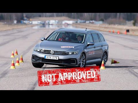 Volkswagen Passat GTE Fails The Moose Test
