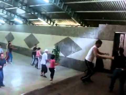 Salsa Casino - Choco de Caracas - Clase Abierta Casa Monagas de Son Escena