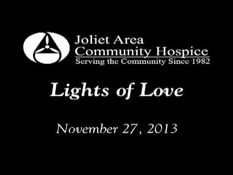 Joliet Hospice Lights of Love 2013, Joliet, Illinois
