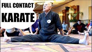 SAVAGE KNOCKOUT w/ KICKS | Undefeated Full Contact Karate & Kickboxing Champion
