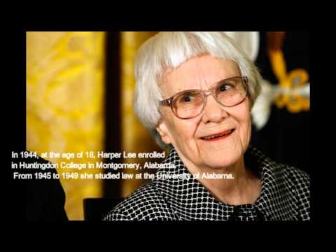 Biography of Harper Lee.