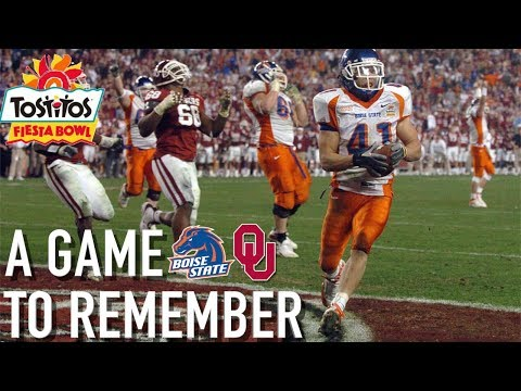 BEST Finish in CFB HISTORY 💯 Boise State Upsets Oklahoma: A Game to Remember