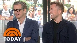 Colin Firth And Taron Egerton Talk About 'Kingsman: The Golden Circle'   TODAY