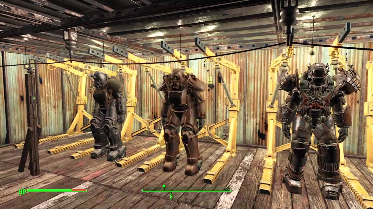 Fallout 4 Settlement Cribs ultimate man cave YouTube