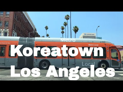 🔴  Koreatown Los Angeles Realtor Driving Tour 4K