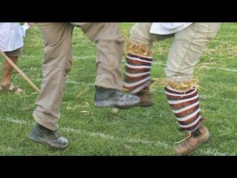 Shin Kicking Contest