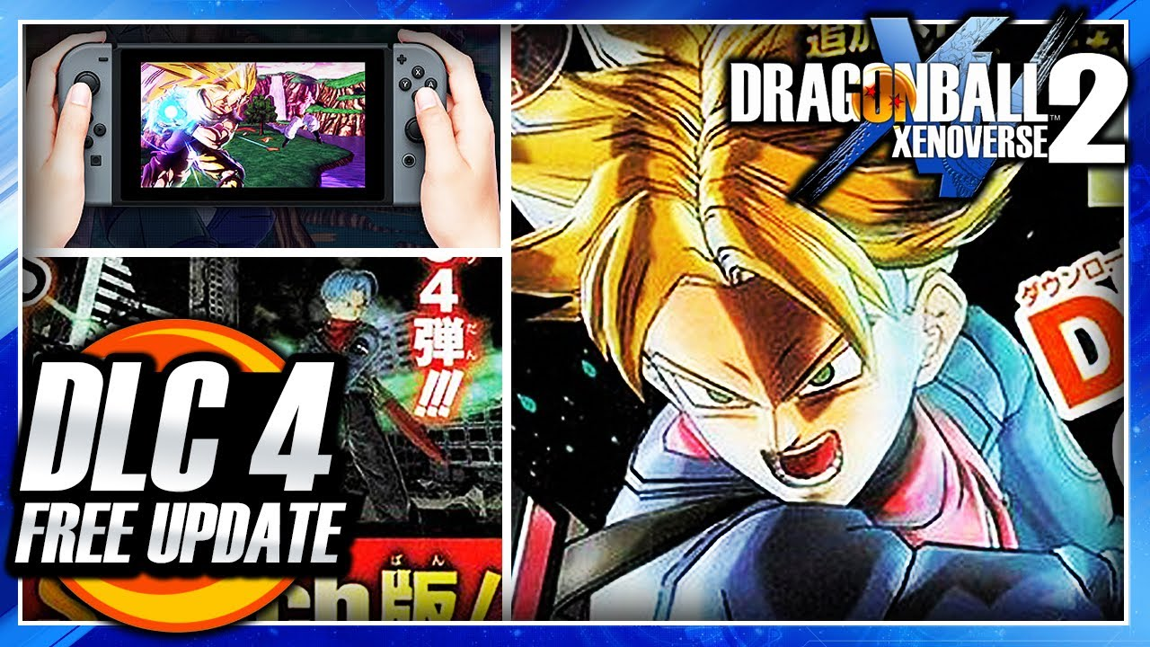 dragon ball xenoverse 2 free update