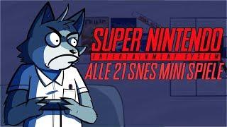 Ein Blick auf alle 21 SNES-Mini Spiele