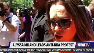 Dan Bongino: Alyssa Milano's Armed Security at Anti-Gun Protest
