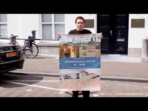 Protest Tegen De Ambassade Van Saoedi Arabië In Den Haag