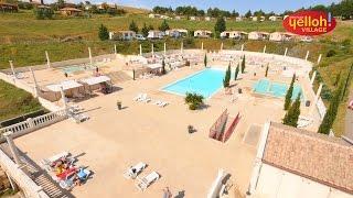 Badebereich im Camping Yelloh! Village Domaine d'Arnauteille in Carcassonne - Auf dem Land