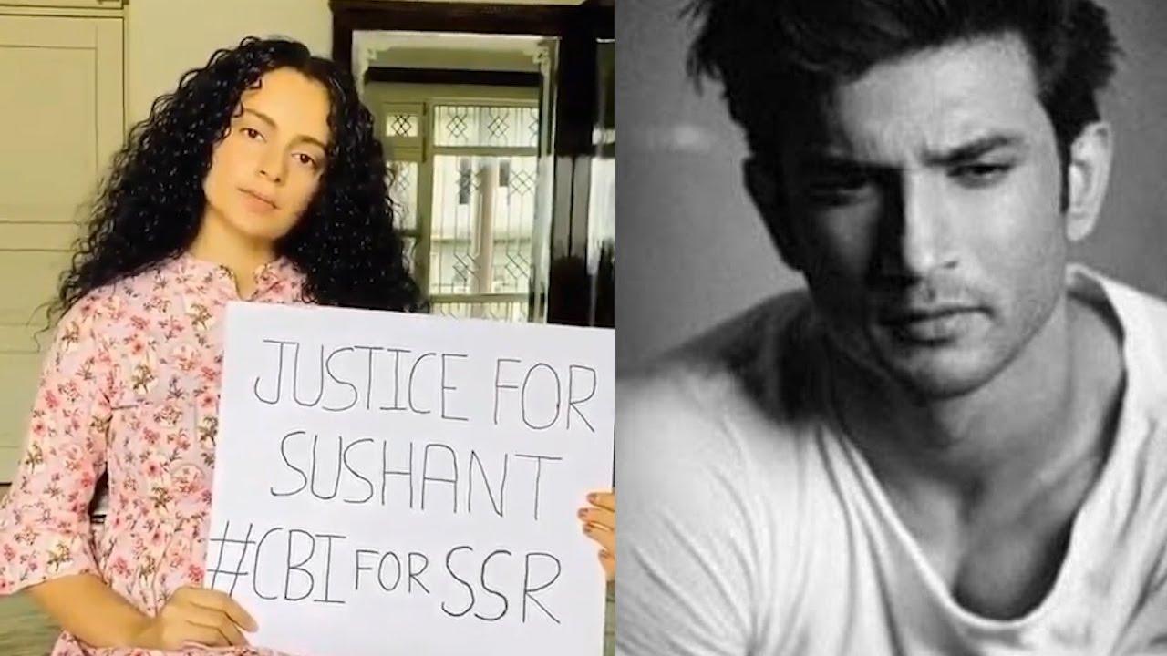 Kangana Ranaut Asking Justice Sushant Singh Rajput