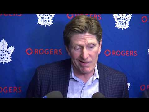 Maple Leafs Pre-Game: MIke Babcock - January 18, 2018