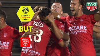 But Théo VALLS (33') / Nîmes Olympique - Stade Brestois 29 (3-0)  (NIMES-BREST)/ 2019-20
