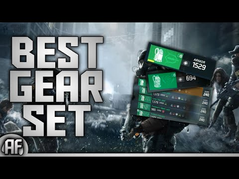 BEST GEAR SET in the division