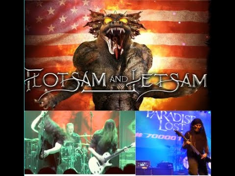 Flotsam And Jetsam 2021 tour - Paradise Lost, Ghosts - The Weapon, Slave State - new Katatonia video
