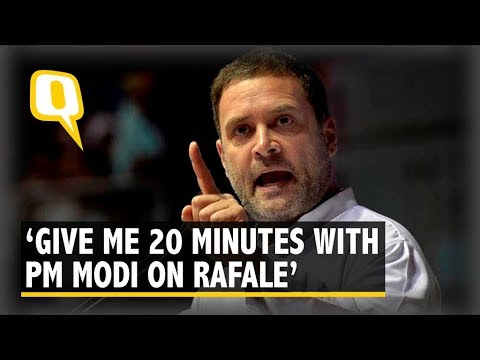 Rahul Gandhi Addresses Media on The Rafale Controversy