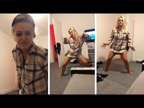 Girl Films Sister Hilarious Drunk Dancing