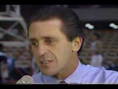 Chick Hearn with Pat Riley