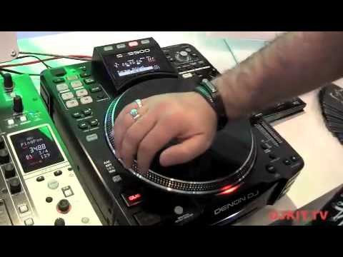 djkit.tv profile the Denon SC3900 Digital Media Turntable & DJ controller @ musikmesse 2012