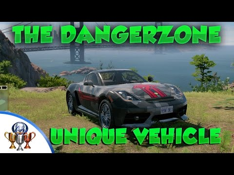 Watch Dogs 2 Unique Vehicle - The Dangerzone - How to Find The Dangerzone (A Ride to Remember)