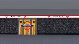 Roblox Central line : Ealing Broadway To Bond Street