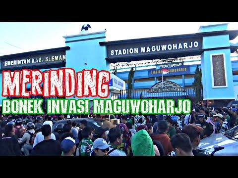 YO IKI BONEK | Suasana Stadion Maguwoharjo Sebelum Kick Off PSS VS Persebaya