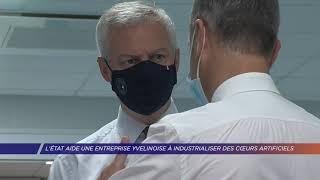 Yvelines | L'Etat aide une entreprise Yvelinoise à industrialiser des coeurs artificiels