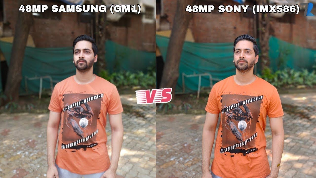 Redmi Note 8 48mp Samsung Gm1 Vs Realme 5 Pro 48mp Sony Imx586 Full Camera Comparison Youtube