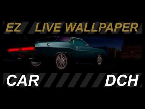 Car Dodge Challenger Live Wallpaper Zhivye Oboi Youtube