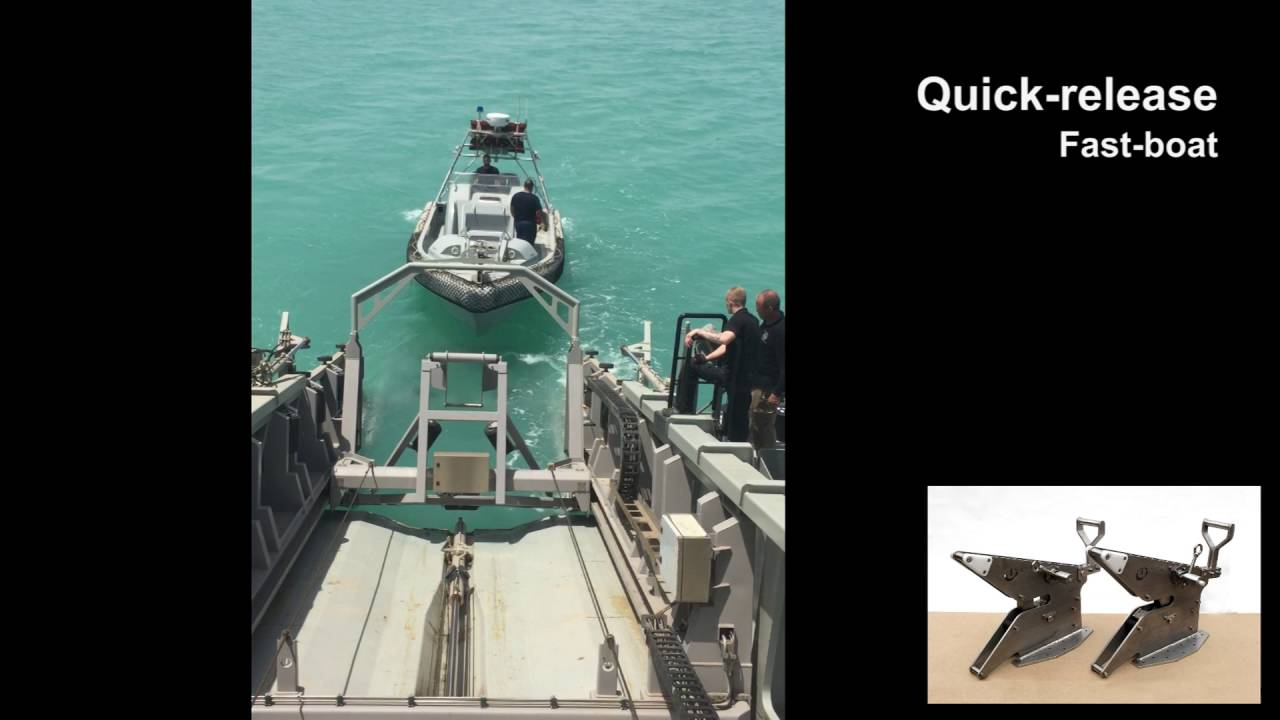 tbv frc rhib stern ramp launch and recovery system youtube