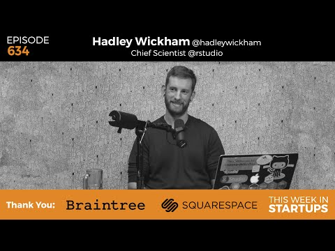 Hadley Wickham, RStudio Scientist & open source pioneer, on data, stats, & philosophy