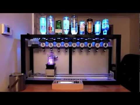m quina autom tica de coquet is cocktail drink machine youtube. Black Bedroom Furniture Sets. Home Design Ideas