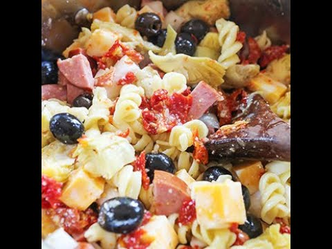 Best Ever Pasta Salad Recipe Pip And Ebby