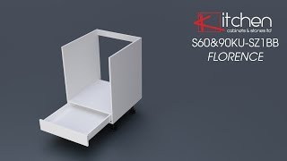 [Premier] Florence - Assembly Video for 600mm Base Oven Cabinet with a Drawer
