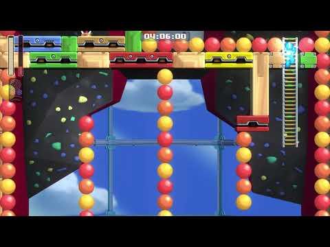 Mega Man 11 - Bounce Man Boss Silver  
