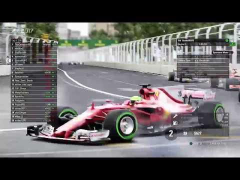 TUF F1 2017: TUF2 - S3 - Test Race Baku