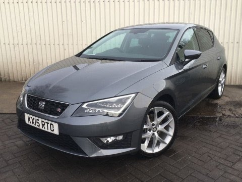 2015 15 seat leon 2 0 tdi fr 5dr inc technology pack in grey youtube. Black Bedroom Furniture Sets. Home Design Ideas