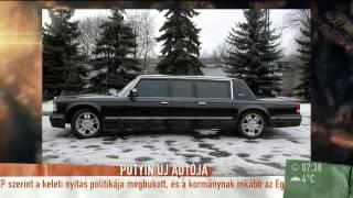 Miért kerül Putyin autóflottája 40 milliárd forintba? - 2014.12.09 - tv2.hu/mokka