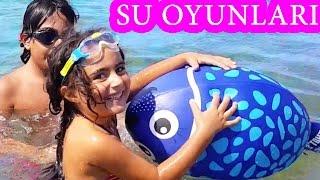Suda Fok Balığı Yakalama Oyunu   Yaz Eğlenceleri   UmiKids Vlog