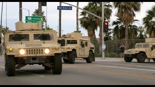 National Guard Arrives in Hollywood to Curb Looters