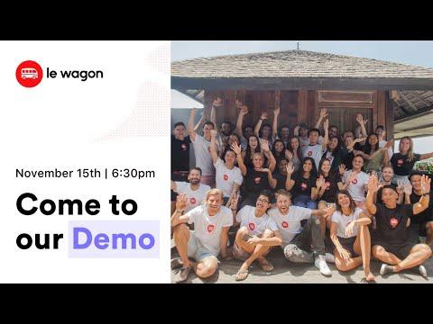 Coding Bootcamp Bali | Le Wagon Demo Day - Batch #306