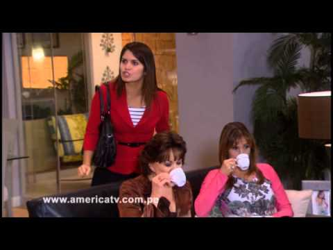 Fernanda sorprende a Joel besando a Monserrat delante de su nona